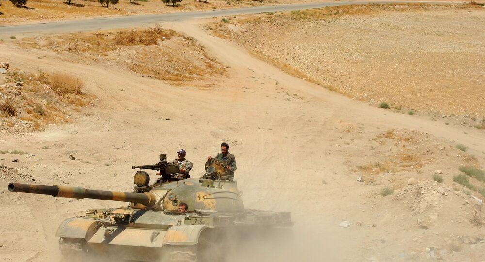 الجيش السوري - شمال حماة