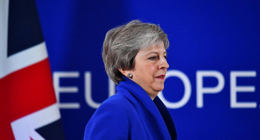 تيريزا ماي رئيس وزراء بريطانيا
