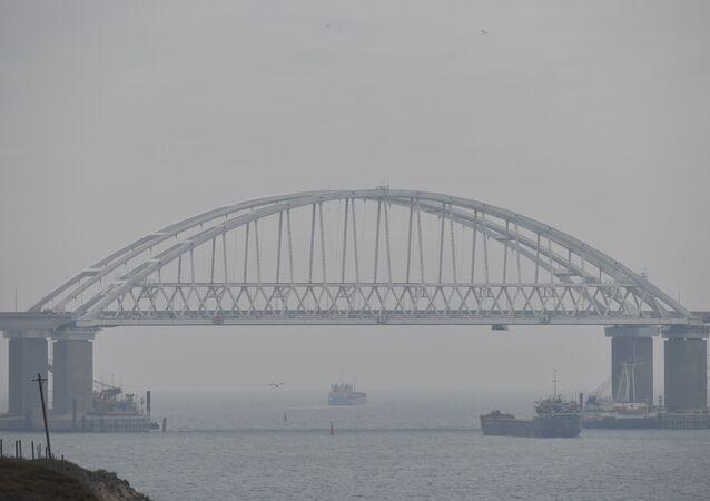 الوضع في مضيق كيرتش، القرم، روسيا