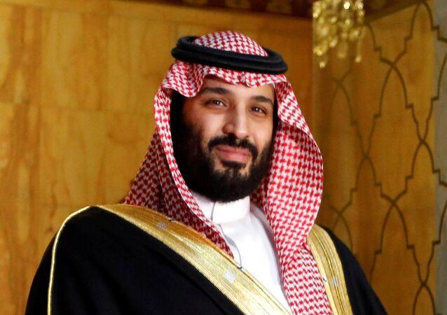 ولي العهد السعودي الأمير محمد بن سلمان أثناء زيارته إلى تونس