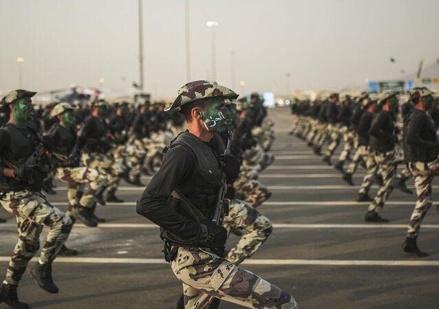 تدريبات جنود الجيش السعودي