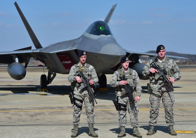 قاعدة عسكرية أمريكية في كوريا الجنوبية