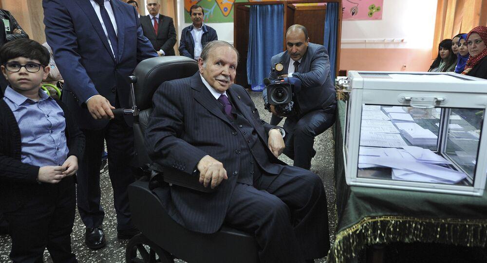 رئيس الجمهورية الجزائرية، عبد العزيز بوتفليقة