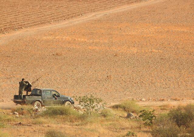 الجيش السوري - شمال حماة، سوريا