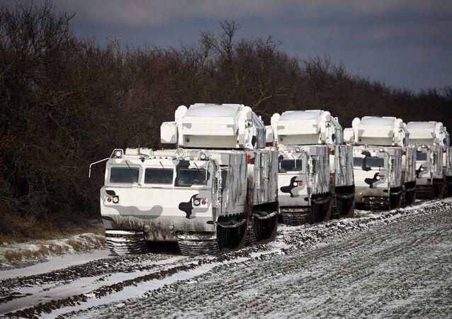 القوات المسلحة الروسية تعتمد أول دفعة من منظومات الدفاع الجوي القطبية تور-إم 2 دي تي، بمدينة ييسك الروسية