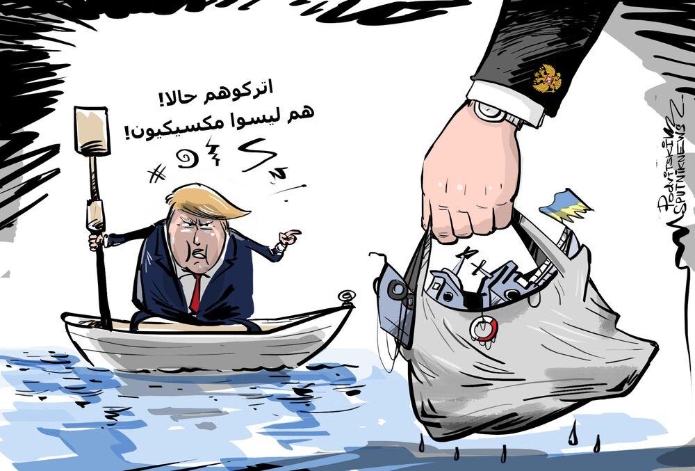 ترامب ألغى اجتماعه مع بوتين في قمة العشرين بسبب الأوضاع السياسية الأمريكية الداخلية