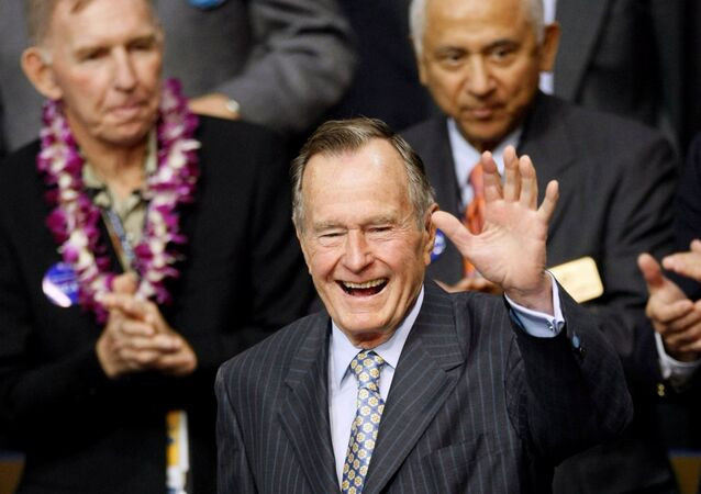 جورج بوش الأب