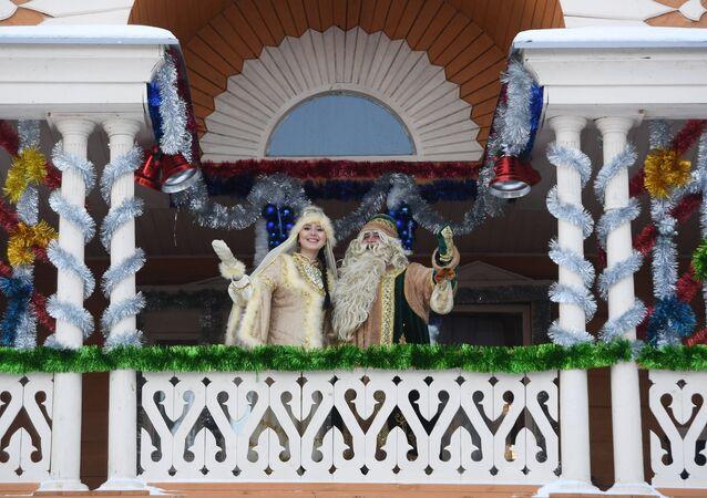 عطلة رأس السنة في روسيا
