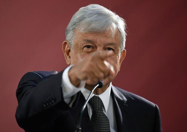 الرئيس المكسيكي أندريس مانويل لوبيز أوبرادور