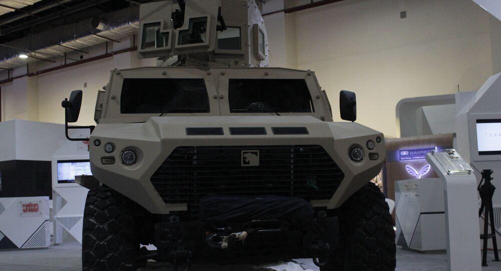 أسلحة إماراتية في إيديكس 2018 EDEX-2018 Саудовское оружие