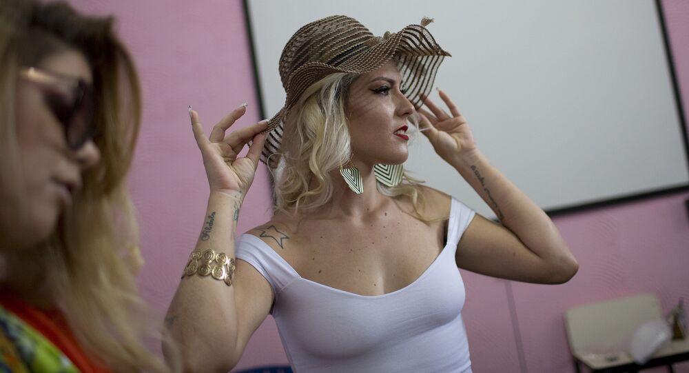 مسابقة ملكة جمال السجون تالافيرا بريوس في البرازيل، 4 ديسمبر/ كانون الأول 2018 - المشاركات في المسابقة التي تُقام للمرة الـ 13 على التوالي في ريو دي جانيرو
