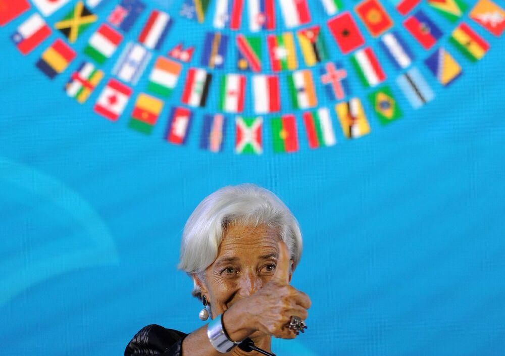 رئيسة صندوق النقد الدولي كريستين لاغارد