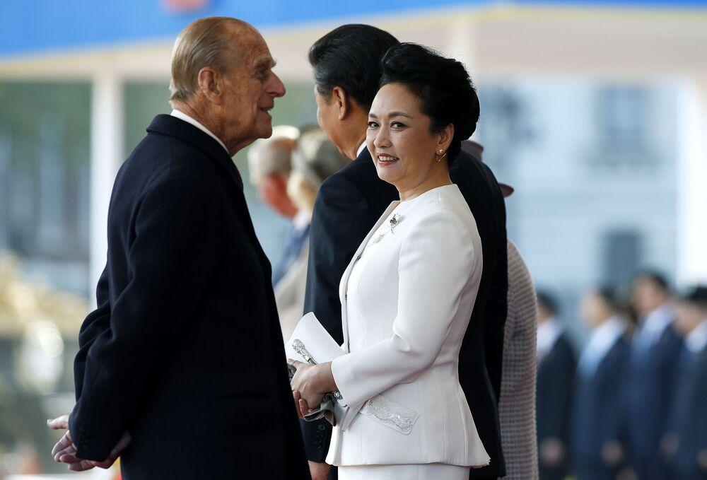 السيدة الأولى الصينية بينغ ليوان