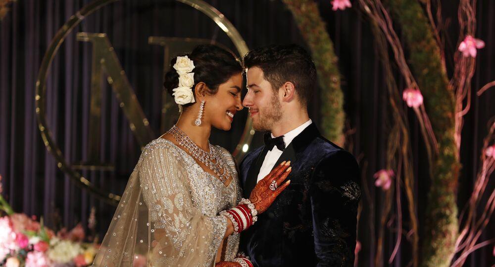 زفاف الممثلة الهندية بريانكا تشوبرا والمطرب الأمريكي نيك جوناس