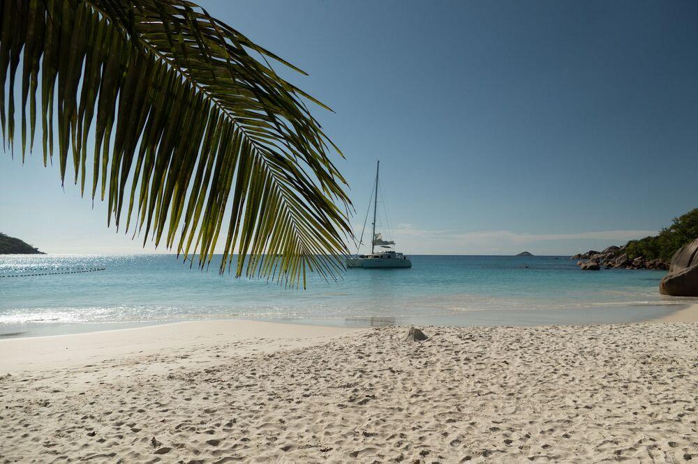 شواطئ آنس لاتسيو في جزر سيشيل