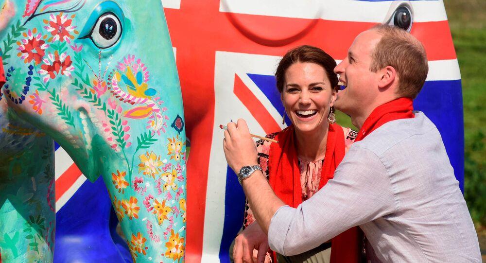 الأمير ويليام وزوجته كيت ميدلتون