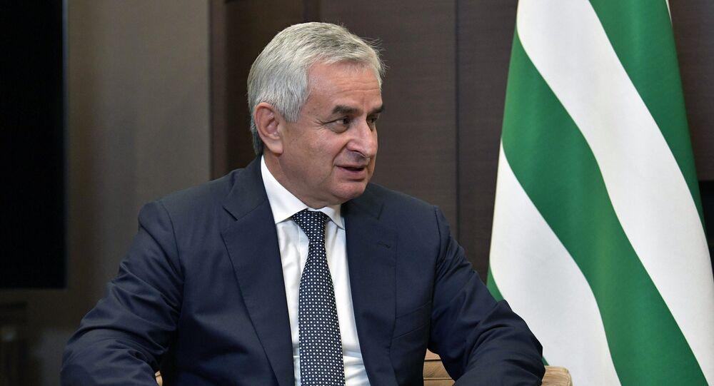 رئيس أبخازيا راؤول خاجيمبا