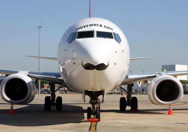 طائرة لشركة الطيران The Qantas Wallabies الأسترالية