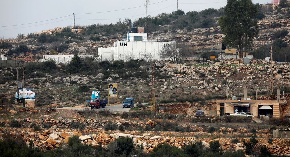 مقر تابع لـ الأمم المتحدة داخل الجانب اللبناني، الحدود بين لبنان و إسرائيل، 9 ديسمبر/ كانون الأول 2018