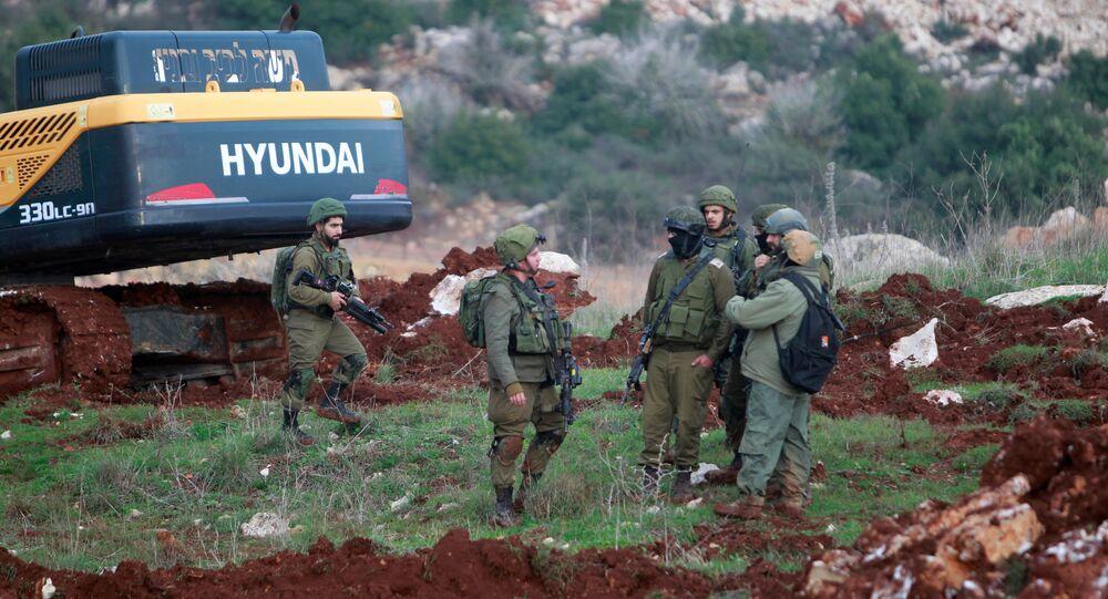 الجيش الإسرائيلي - الحدود بين لبنان و إسرائيل، 9 ديسمبر/ كانون الأول 2018