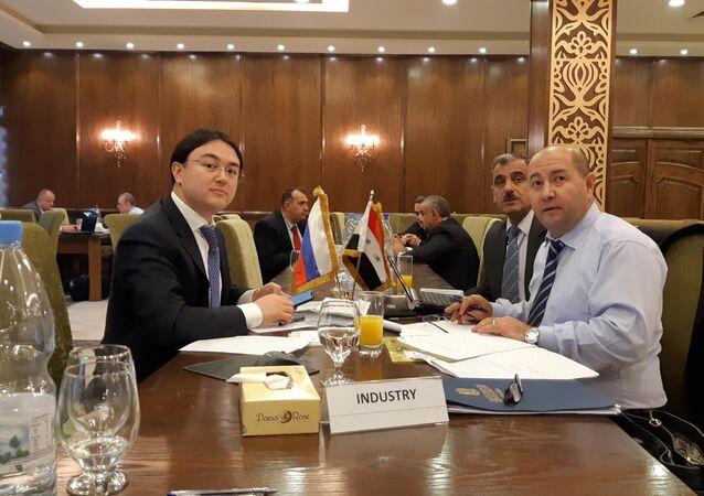 مباحثات روسية سورية في مجال التعاون الثنائي في سوريا