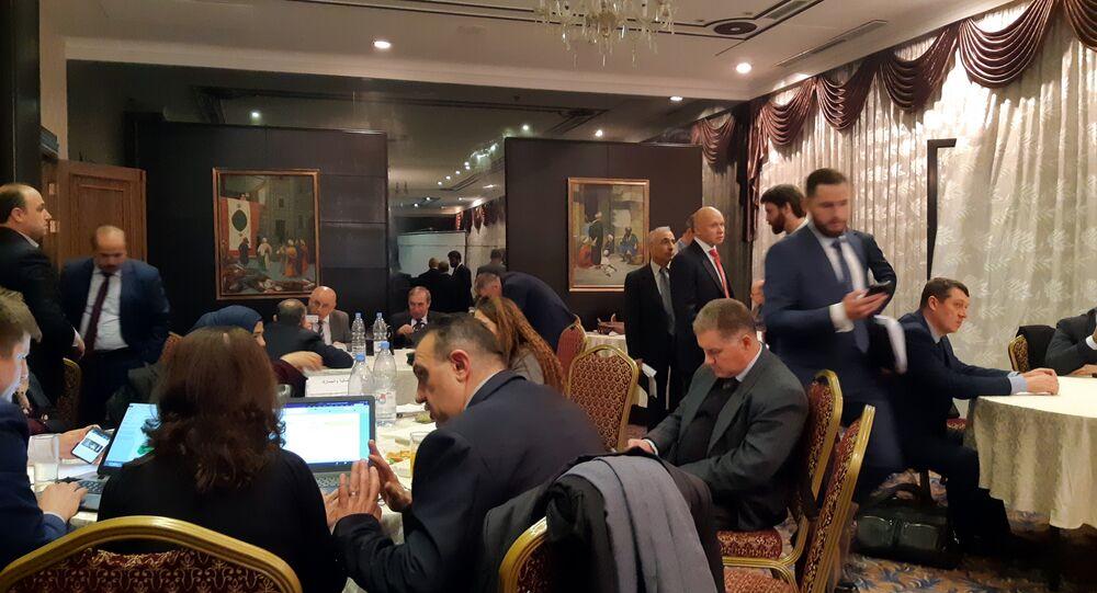 اجتماع اللجنة السورية الروسية بشأن التعاون الثنائي في سوريا