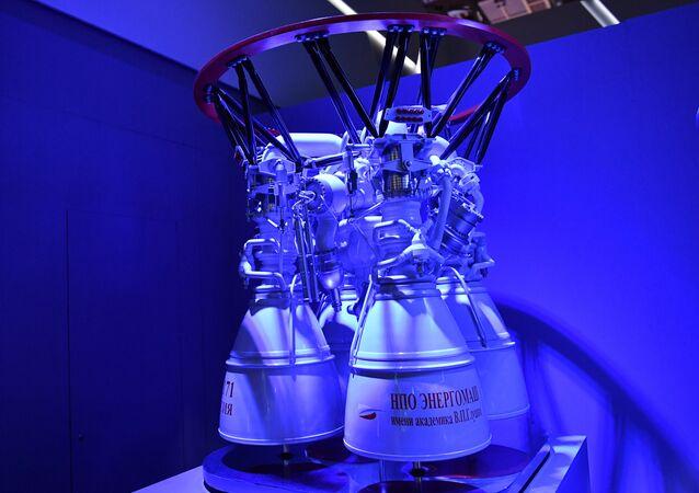 محرك صاروخ روسي