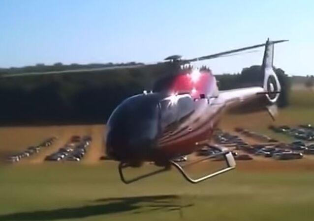 تحطم المروحيات