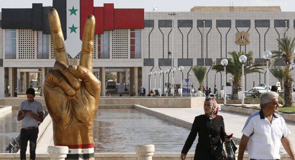 مناظر عامة للمدن العربية - مدينة دمشق، سوريا 9 سبتمبر/ أيلول 2018