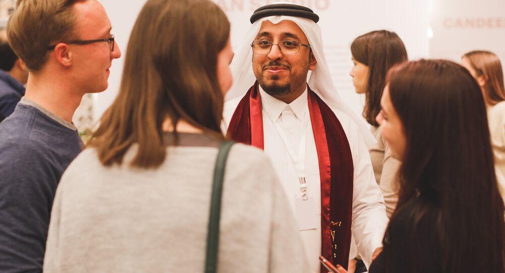 اليوم الوطني لدولة قطر في موسكو يجمع الملايين للبرامج الخيرية