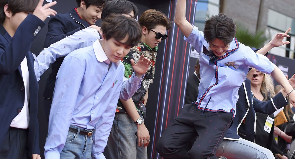 فريق بي تي إس الكوري الجنوبي