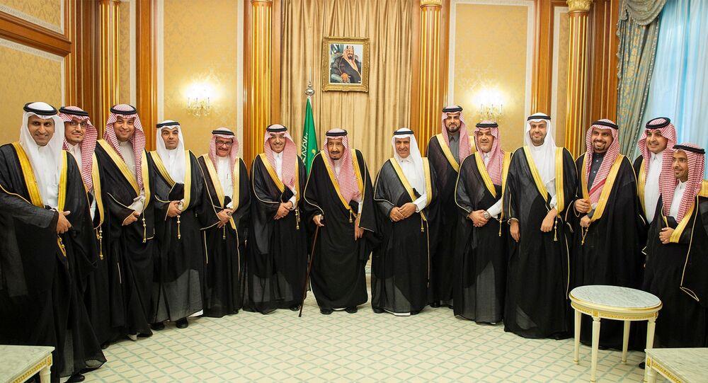 مجلس الوزراء السعودي برئاسة الملك سلمان بعد إقرار ميزانية 2019