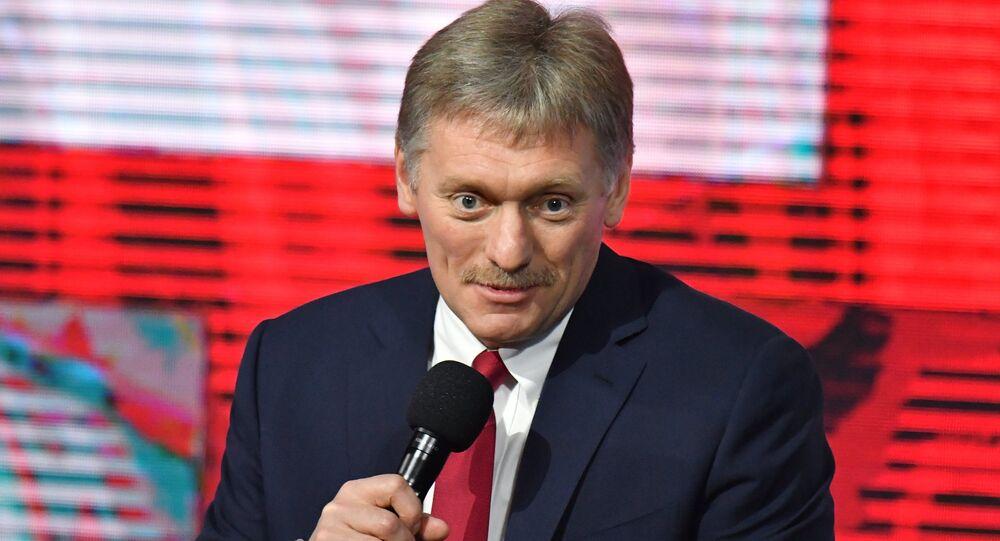المتحدث الرسمي باسم الرئاسة الروسية (الكرملين) دميتري بيسكوف