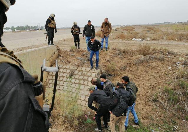 القوات العراقية تحبط هجوما إرهابيا كيمياويا وسط البلاد