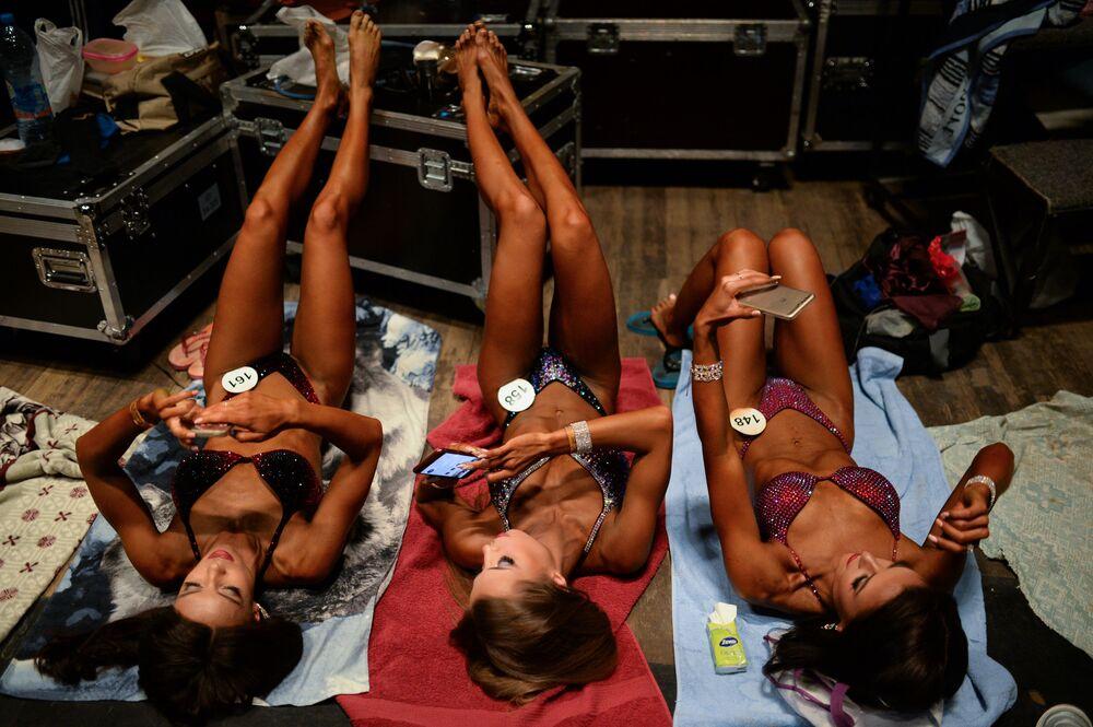 المشاركات في بطولة سيبيريا لكمال الأجسام واللياقة البدية في نوفوسيبيرسك