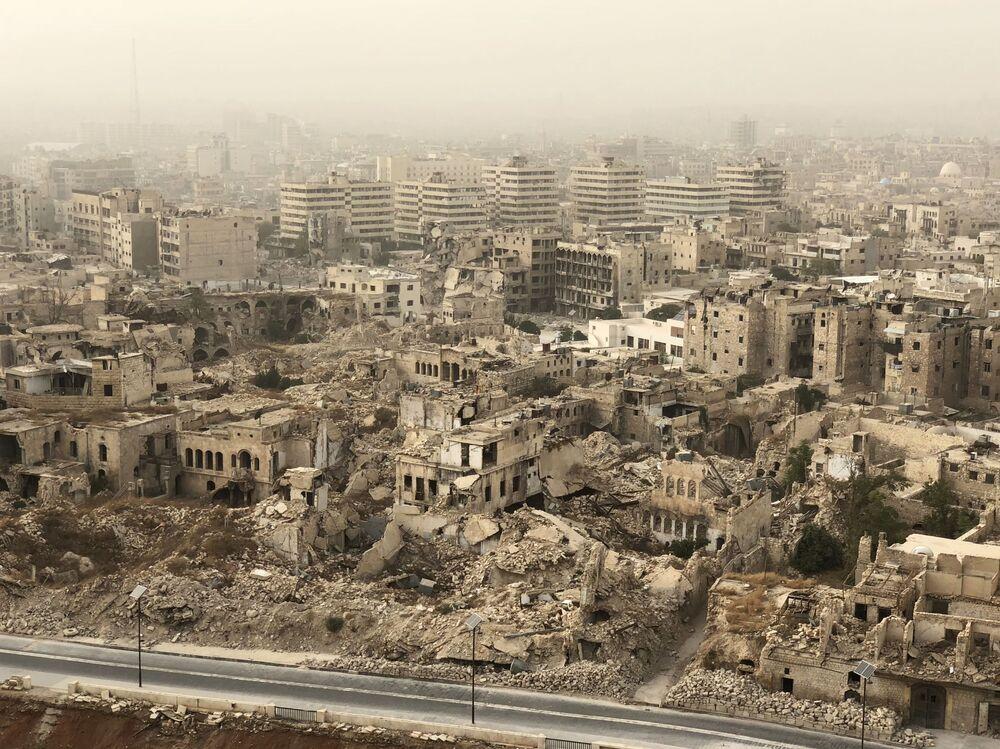 دمار حلب، سوريا
