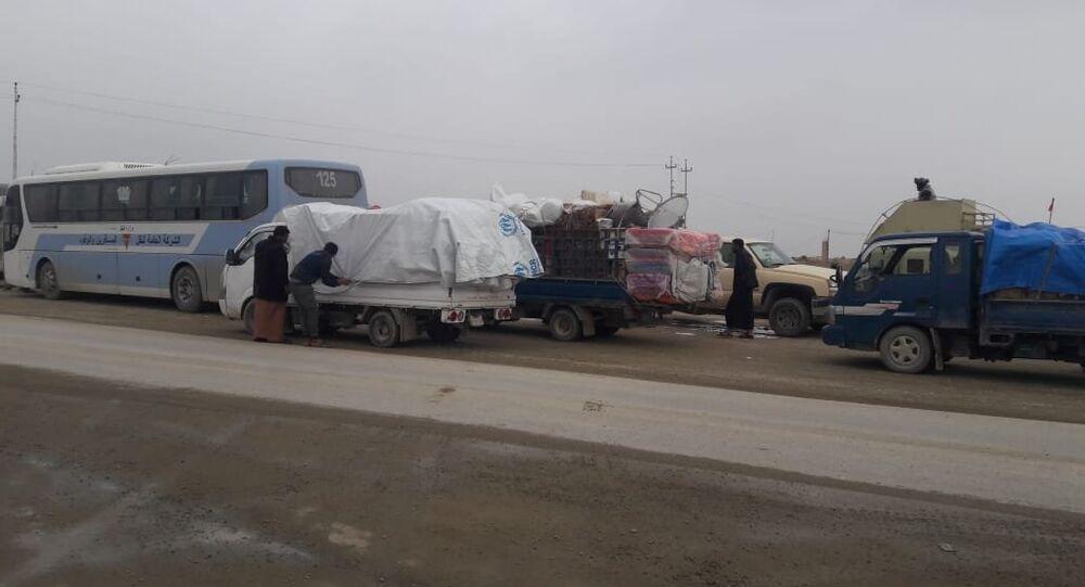 تحت الحماية...إعادة الهاربات من بطش داعش إلى غرب العراق