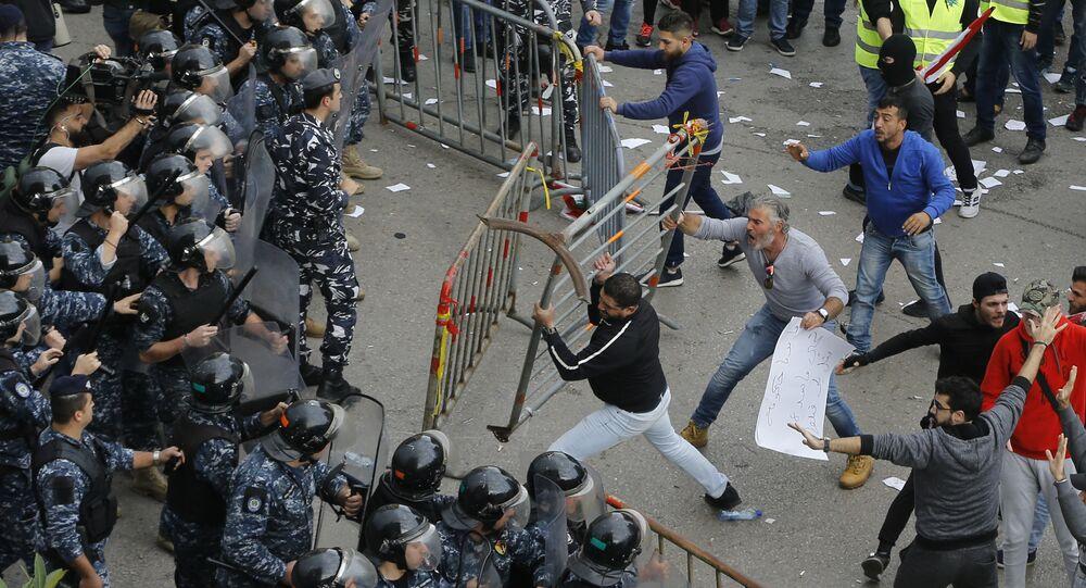 احتجاجات في لبنان