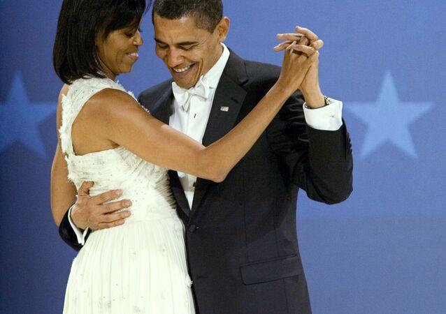 باراك و ميشيل أوباما