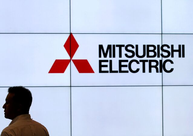 Логотип компании Mitsubishi Electric Corp