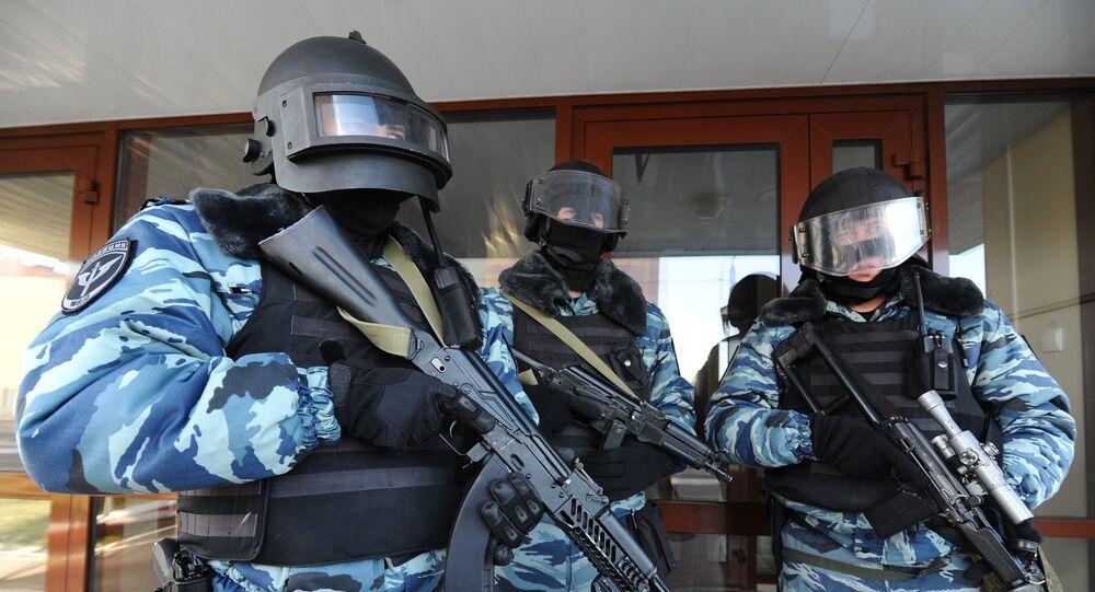 أفراد الحرس الوطني الروسي