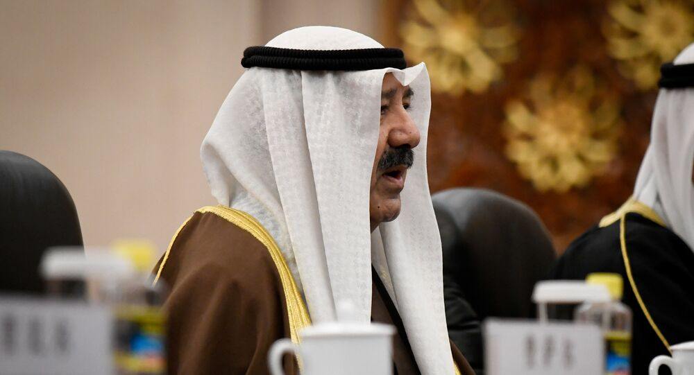 وزير الدفاع الكويتي والنائب الأول لرئيس مجلس الوزراء الشيخ ناصر صباح الأحمد الصباح