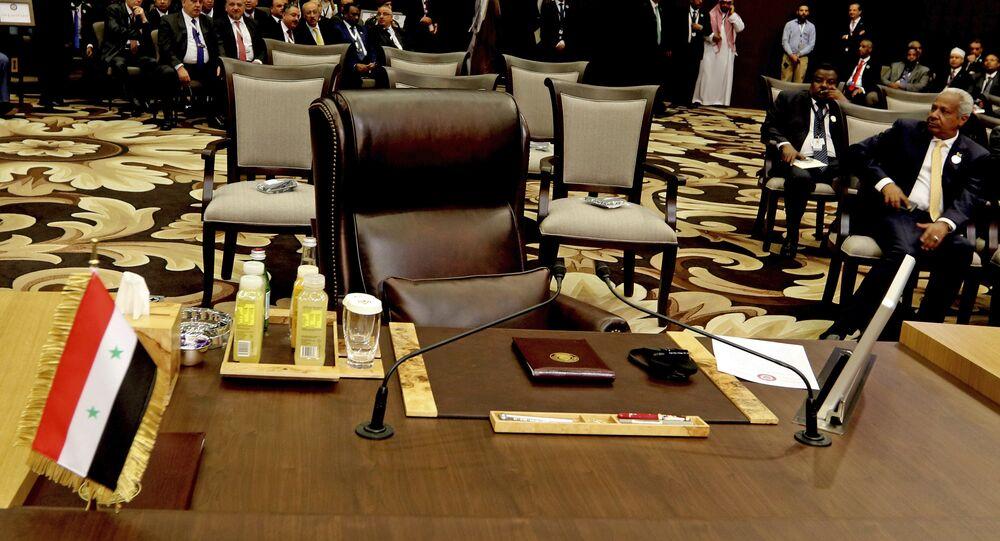 مقعد سوريا في الجامعة العربية