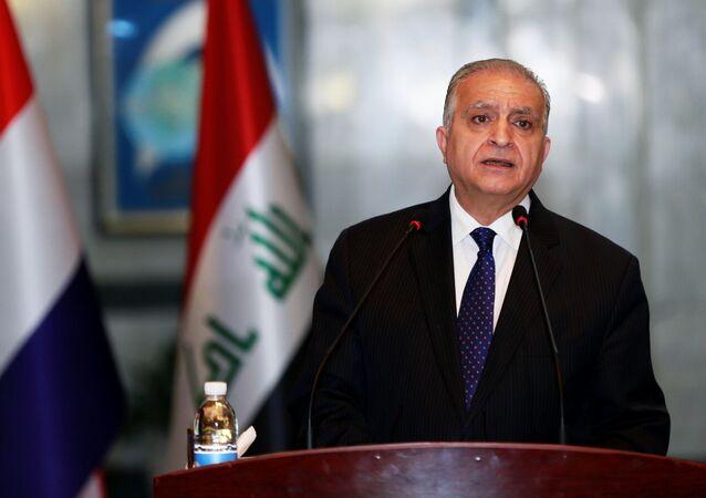 وزير الخارجية العراقي، محمد علي الحكيم