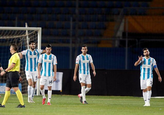 مباراة الأهلي امام بيراميدز - عبد الله السعيد
