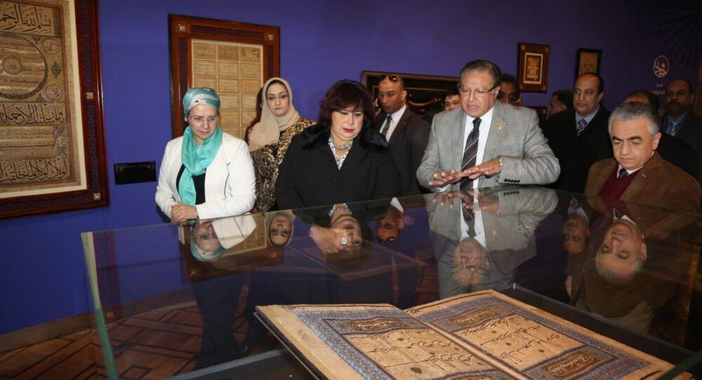 مصر تسترد مخطوطا أثريا يعود للقرن التاسع عشر