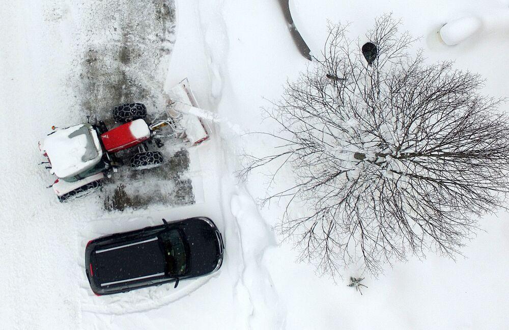فصل الشتاء حول العالم - منطقة رامساو أم داخشتاين، النمسا 8  يناير/ كانون الثاني 2019