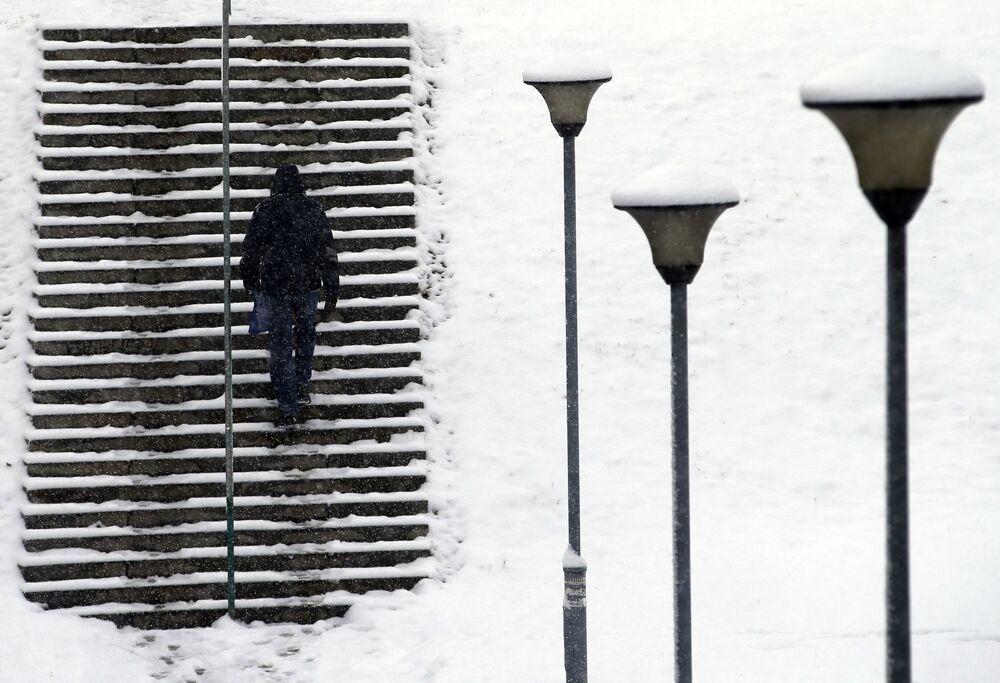 فصل الشتاء حول العالم - بلغراد، صربيا 3 يناير/ كانون الثاني 2019