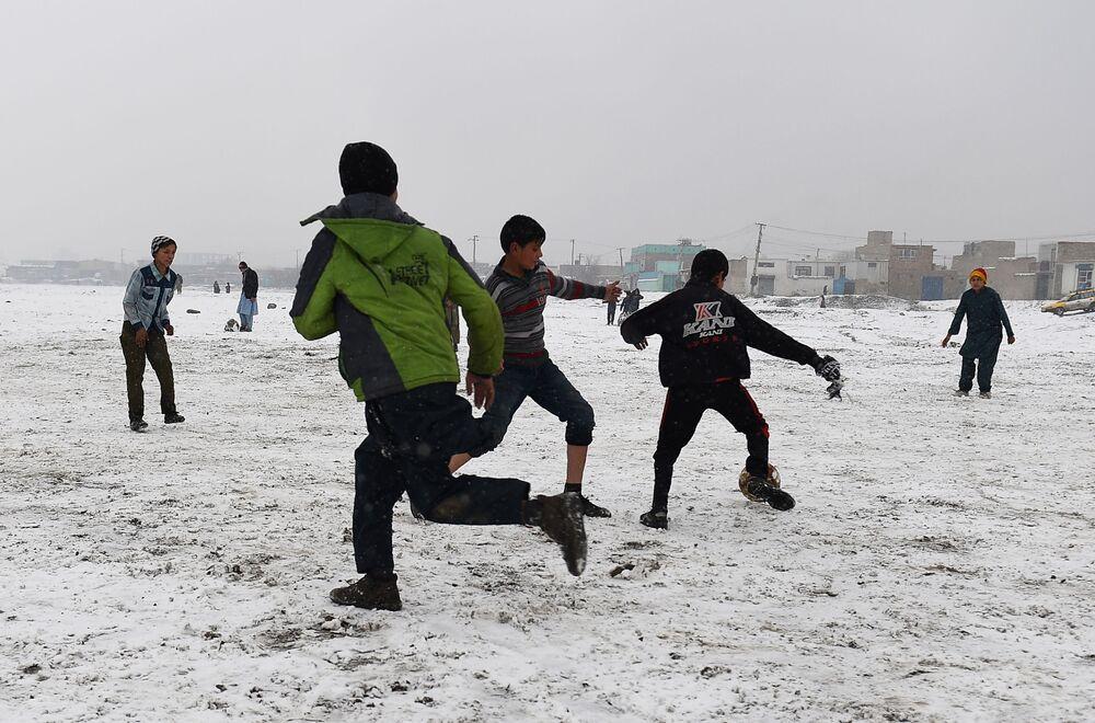 فصل الشتاء حول العالم - كابول، أفغانستان 4 يناير/ كانون الثاني 2019