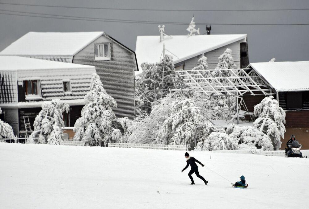 فصل الشتاء حول العالم - القرم، روسيا